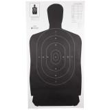 Action Target B-27 Standard Target (Black) - 100pk