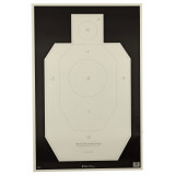 Action Target Official IDPA Paper Practice Target - 100pk