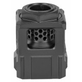 Chaos Gear Supply The Official Qube Compensator 1/2x28 - Black/Black