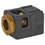 Chaos Gear Supply The Official Qube Compensator 1/2x28 - Black/Gold