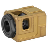 Chaos Gear Supply The Official Qube Compensator 1/2x28 - Gold/Black