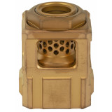 Chaos Gear Supply The Official Qube Compensator 1/2x28 - Gold / Gold