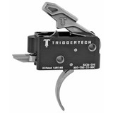 TriggerTech Competitive AR Primary Trigger, Curved Lever - Stainless