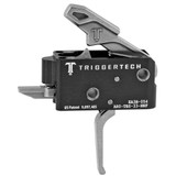 TriggerTech Competitive AR Primary Trigger, Straight Flat Lever - Stainless