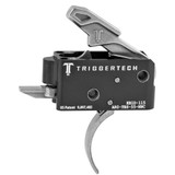 TriggerTech Combat AR Primary Trigger, Curved Lever - Stainless