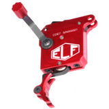 Elftmann ELF 700 SE Precision Rifle Trigger w/o Bolt Release - Curved Red Shoe