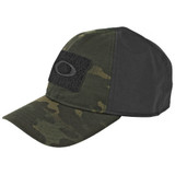 Oakley SI Cotton Stretch Fit Cap (L/XL) - Black Multicam