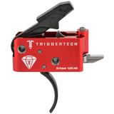 TriggerTech AR Diamond Trigger, Curved - Black