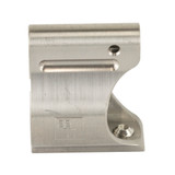 Battle Arms .625in Light Weight Low Profile Titanium Gas Block - Raw Titanium