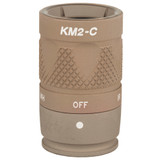 SureFire KM2 6V Infrared And LED White Light M600V Series Bezel - Tan