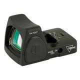 Trijicon RMR Type 2 Adjustable LED Sight, 3.25 MOA Red Dot - Black (RM06-C-700672)