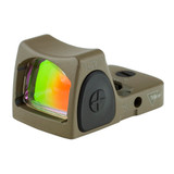 Trijicon RMR Type 2 Adjustable LED Sight, 3.25 MOA Red Dot - FDE (RM06-C-700696)
