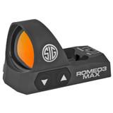 SIG ROMEO3 MAX Reflex Sight, 3 MOA Dot - Black