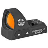 SIG ROMEO3 MAX Reflex Sight, 6 MOA Dot - Black