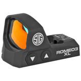 SIG ROMEO3 XL Reflex Sight, 6 MOA Dot - Black