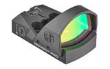SIG ROMEO1 PRO Reflex Red Dot Sight,  6 MOA Dot - Black