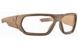 Magpul Radius Ballistic Eyewear - FDE w/ Clear Lenses (MAG1042-241)