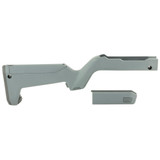 Magpul X-22 Backpacker Stock, Ruger 10/22 Takedown - Gray