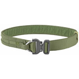 "Eagle Operators Gun Belt w/ Cobra Buckle, Medium 34""-39"" - Ranger Green"
