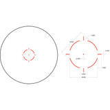 Trijicon MRO HD 1x25 Red Dot Sight with 3x Magnifier (MRO-C-2200057)