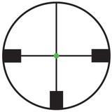 Trijicon AccuPoint 1-6x24 Riflescope, German #4 Crosshair w/ Green Dot, Tritium / Fiber Optics Illuminated (TR25-C-200083)
