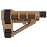 SB Tactical SBA4 Pistol Stabilizing Brace - FDE
