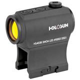 Holosun HS403B 20mm Micro Red Dot Optic, 2 MOA Dot