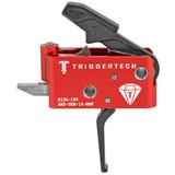 TriggerTech AR15 Black Diamond Trigger - Flat