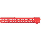 "Strike Industries AR-15 M-LOK Strike Rail - 15.5"" Red"