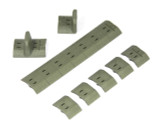 Noveske NSR KeyMod Polymer Panel Set (Foliage Green)