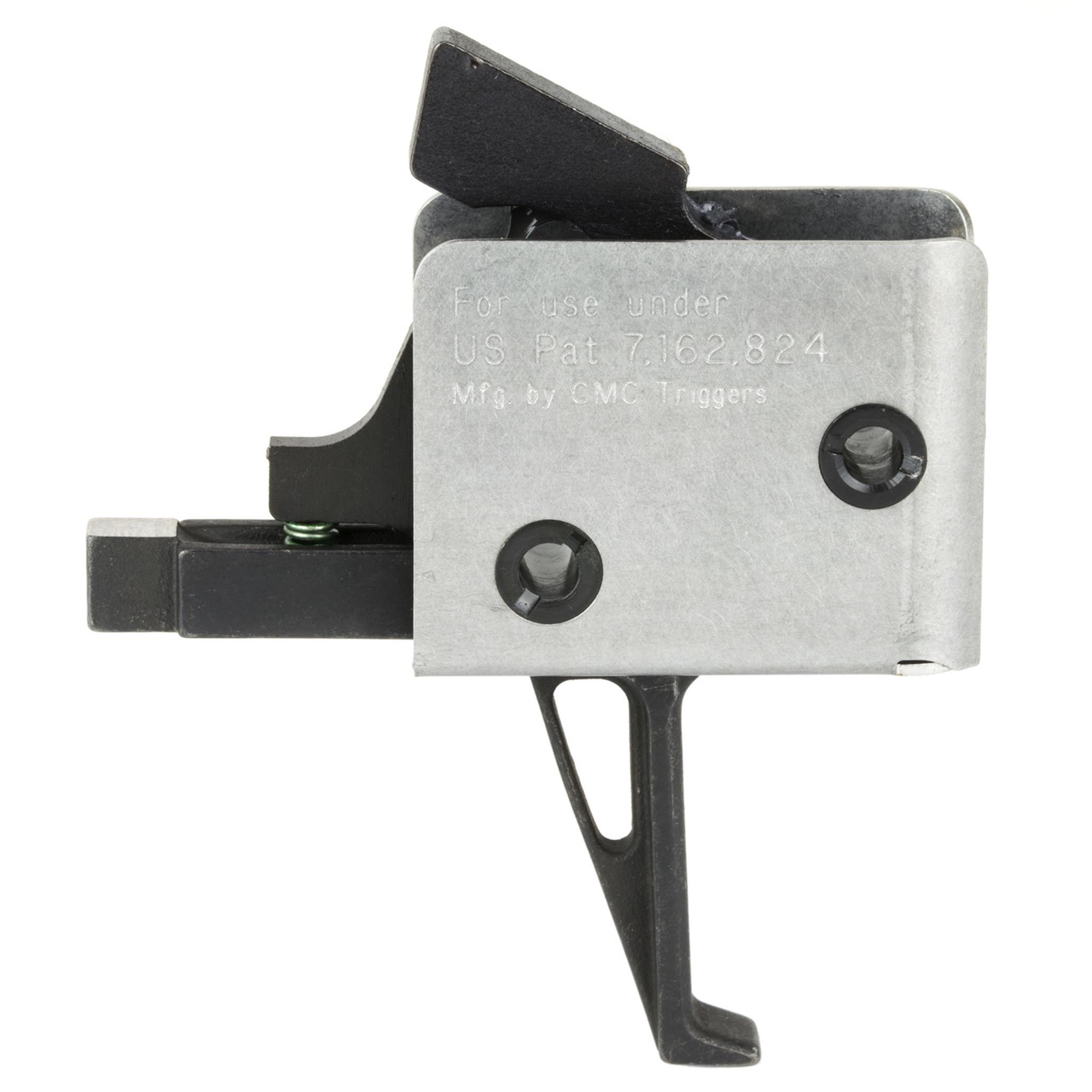 CMC AR-15 / AR-10 9MM PCC Single Stage Drop-In Trigger – Flat Bow - 3 5LB  Pull (95503)