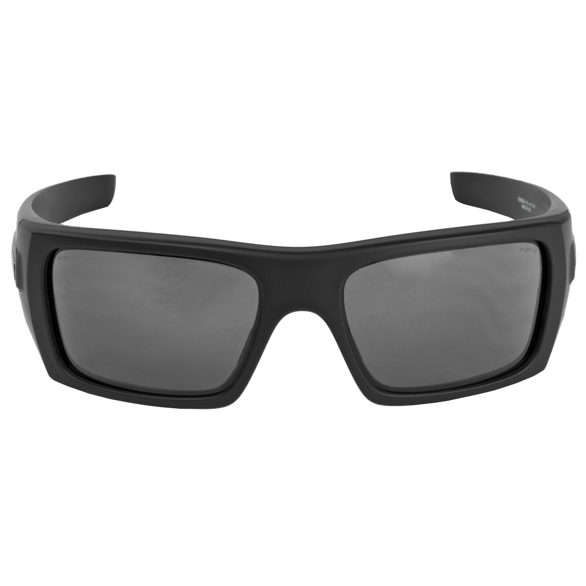 Oakley Det Cord >> Oakley Standard Issue Ballistic Det Cord Black Gray Lens Oo9253