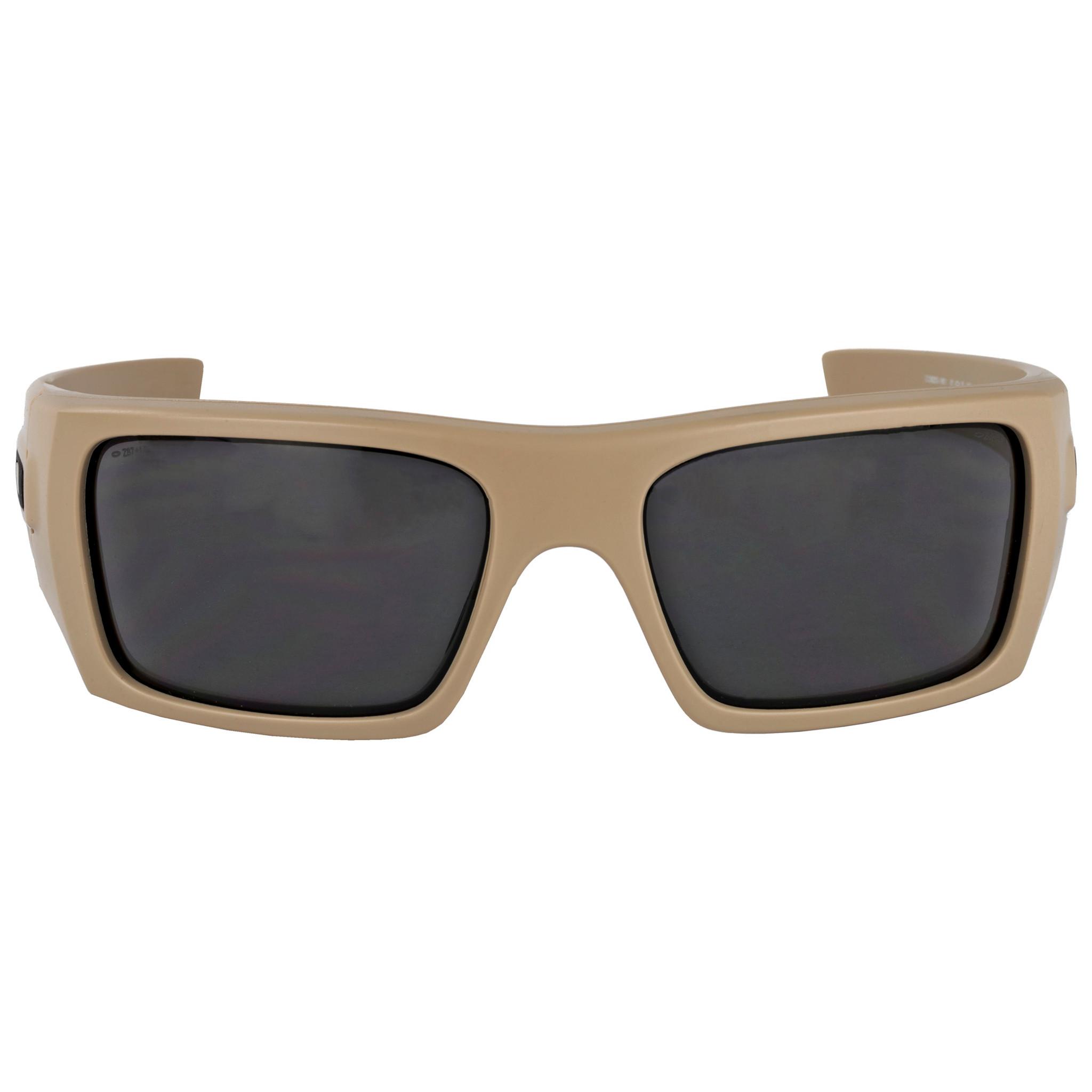 Oakley Det Cord >> Oakley Standard Issue Ballistic Det Cord Tan W Gray Lens Oo9253 1661