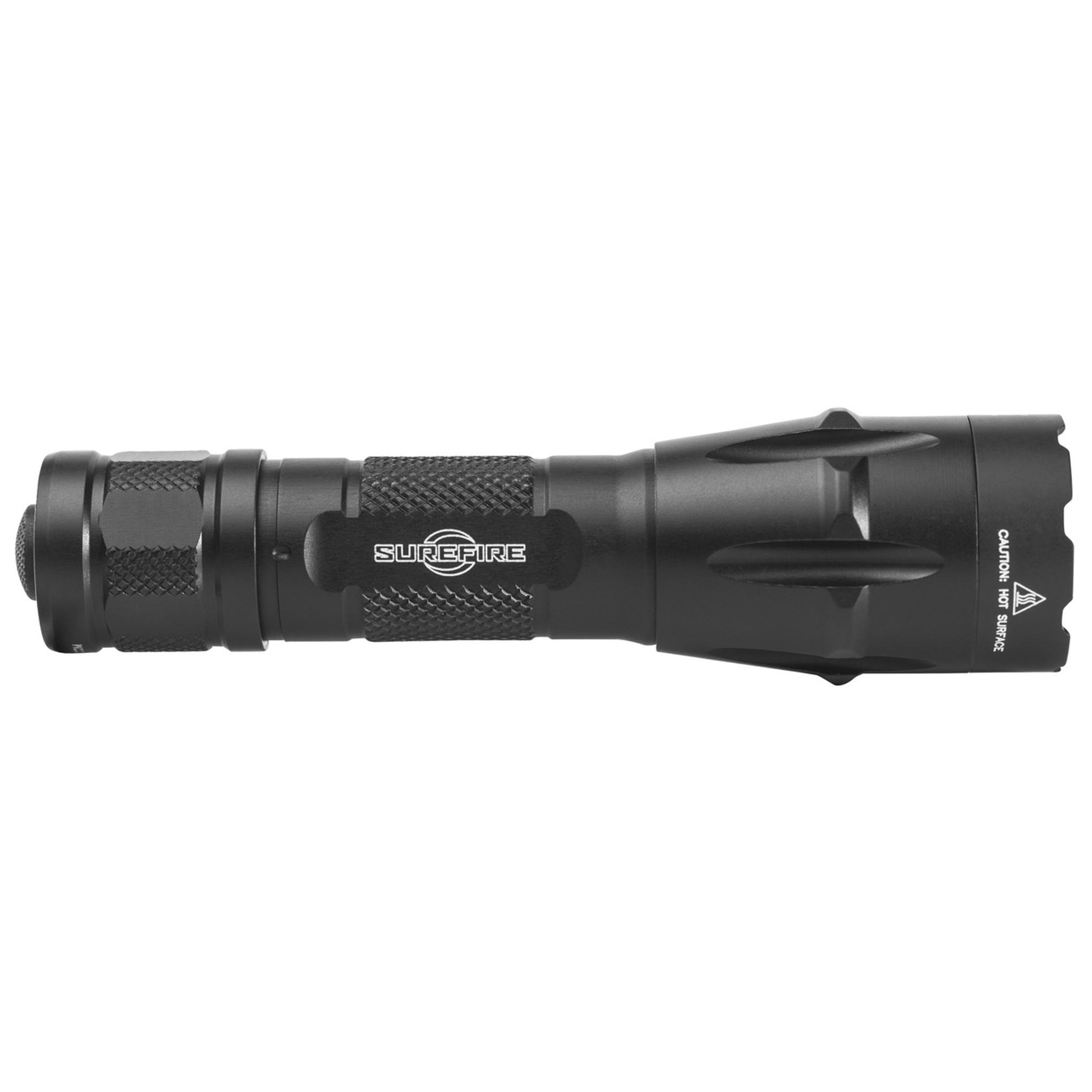 Black NEW Surefire FURY-DFT Dual Fuel Tactical Flashlight 1500 Lumens