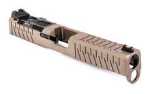 ZEV Z17 Enhanced SOCOM Slide Gen 4 Glock 17 w/ RMR Cutout and Adapter Plate - FDE