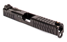 ZEV Z17 Enhanced SOCOM Slide Gen 3 Glock 17 w/ DeltaPoint Pro Cutout and Adapter Plate - Black