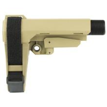 SB Tactical SBA3 Adjustable AR Pistol Brace - FDE