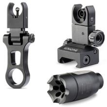 Ultradyne C4 Sight Combo w/Athena Compensator .223/5.56