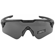 Oakley Standard Issue Ballistic M Frame Alpha  - Black w/ Prizm Grey & Clear Lenses (OO9296-1844)