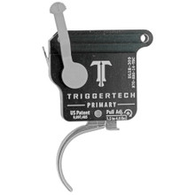 TriggerTech Rem 700 Primary RH Trigger, Curved. Adjustable, w/ Bolt Release - Stainless