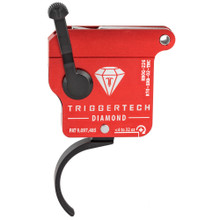 TriggerTech Diamond Rem 700 RH Trigger, Traditional Curved, Adjustable - PVD Black