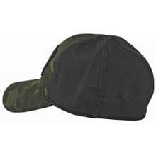 Oakley SI Cotton Stretch Fit Cap (S/M) - Black Multicam