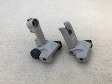 Rainier Arms Backup Iron Sights - Tan