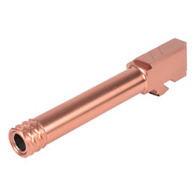 ZEV Pro Match Barrel For G19, GEN1-5, 1/2x28 Threading - Bronze