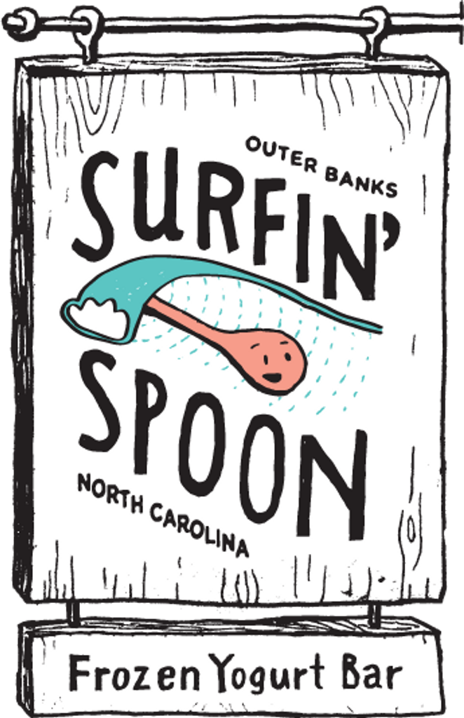 Made for our friends down at the Surfin' Spoon