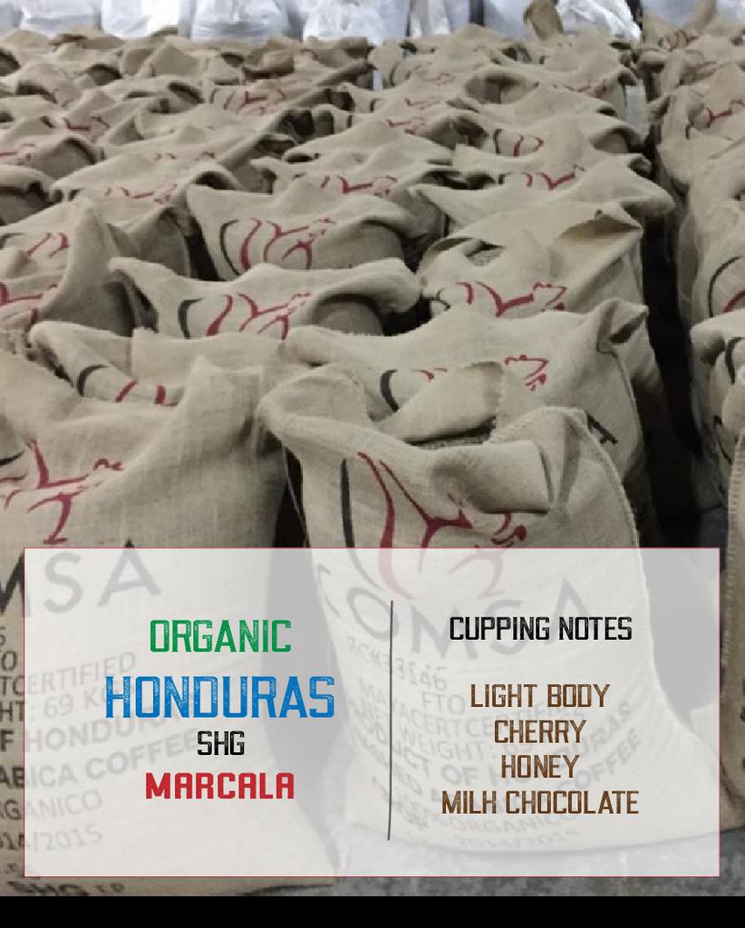 honduras marcala coffee bags