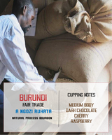 Burundi coffee bags