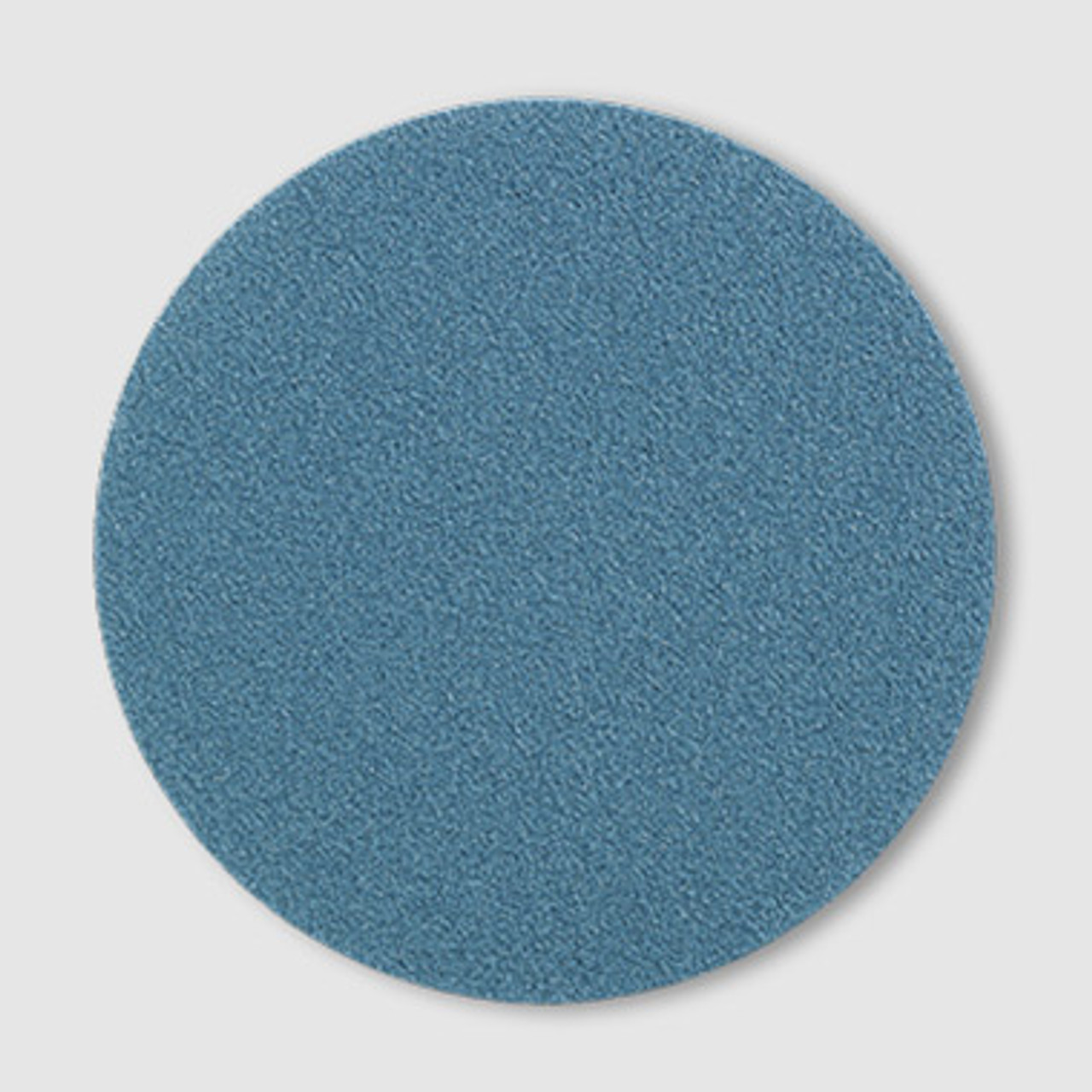 "Floor Mechanics Blue Zirconia Edger Discs 6"" No Hole"