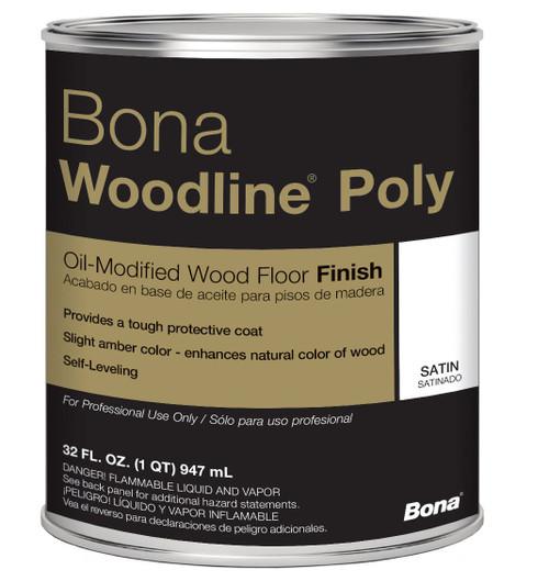 Bona Woodline Polyurethane Quart