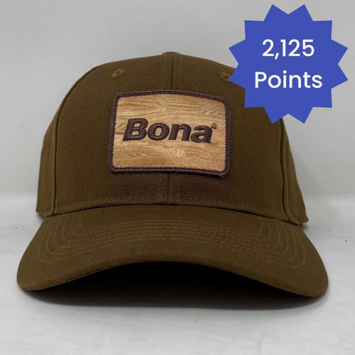 Bona Woodgrain Logo Hat - Brown
